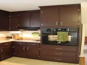 Ideas For Kitchen Cabinet Colors Kitchen Brown Kitchen Cabinet Painting Color