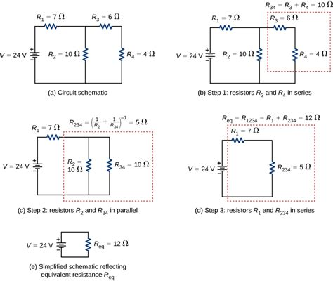 two resistors are wired in series 10 2 resistors in series and parallel physics libretexts