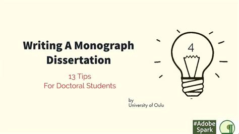 tips for writing a dissertation writing a monograph dissertation thesis hub