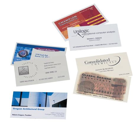 avery business cards templates avery microperforated business cards