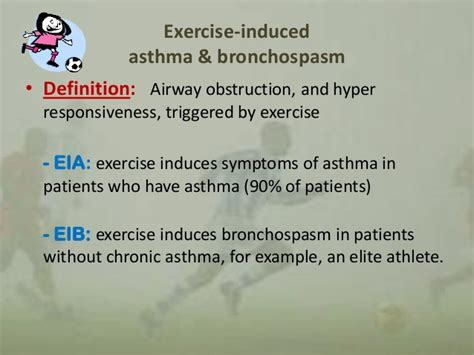 exercise induced asthma bronchospasm