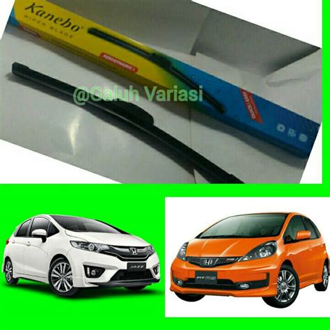 Wiper Mobil Kanebo Frameless Honda Mobilio2buahsepasang jual harga wiper mobil honda jazz rs 2buah sepasang