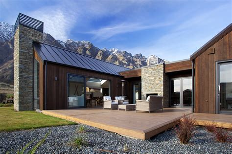 luxury homes queenstown custom luxury home builders nz outdoor living design