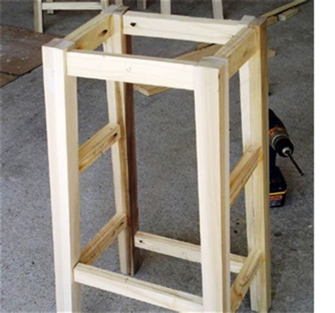 build your own bar stools home dzine home diy make your own bar stools