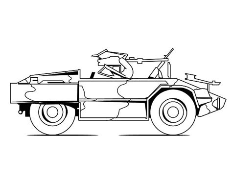 how to draw a army jeep tank m113 army car coloring pages tank m113 army car