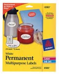avery 6583 template identification labels avery 174 white permanent multipurpose