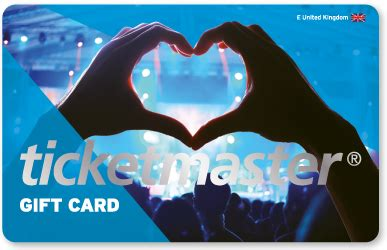 Ticketmaster E Gift Card - gift cards ticketmaster belgium