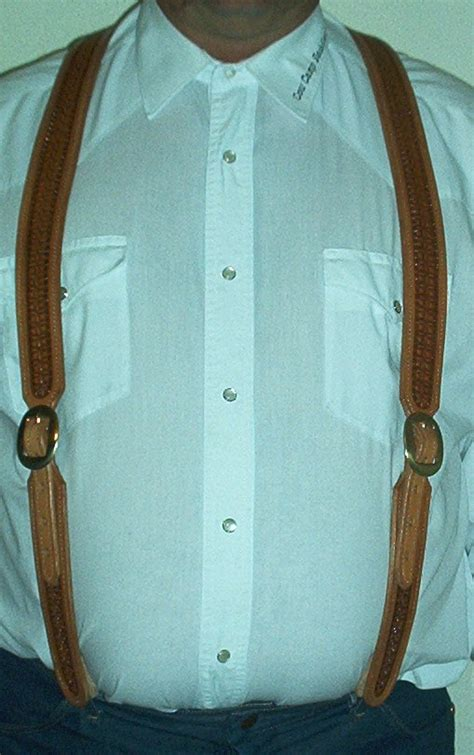 Leather Suspender Template Leather Suspenders Patterns And Templates Leatherworker Net