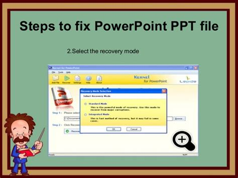 reset tool in powerpoint repair corrupt ppt file by using ppt recovery tool