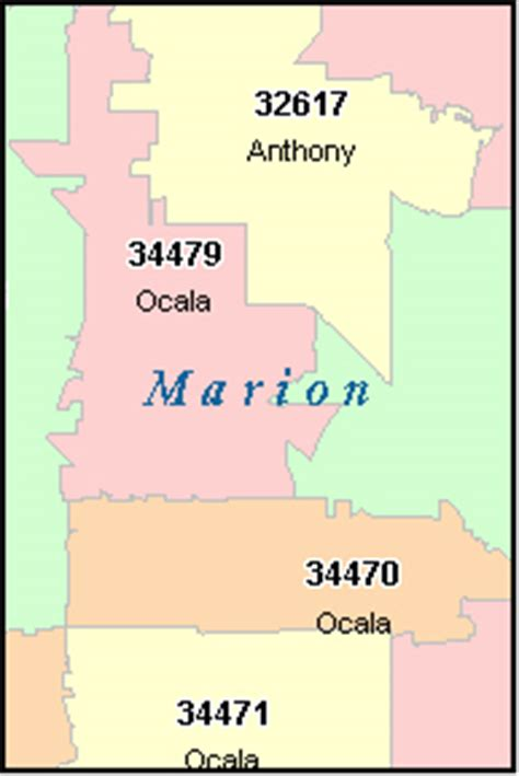 Hairstyle Consultation In Ocala Fl by Marion County Florida Zip Code Map