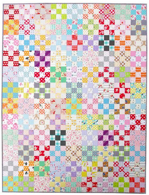 Nine Patch Quilt by Nine Patch Checkerboard Quilt A Finished Quilt
