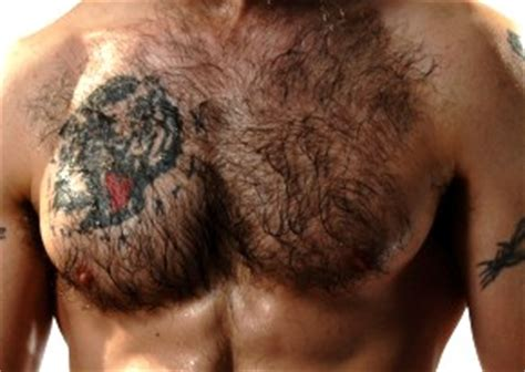 tattoo on chest hair clear4life electrolysis show off your tattoo