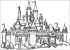 castle coloring pages castles coloring