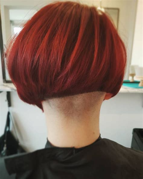 short stacked bob haircut shaved 1168 best napes to die for images on pinterest short
