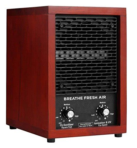 breathe fresh air hepa filter ionic ionizer air purifier with uv best offer
