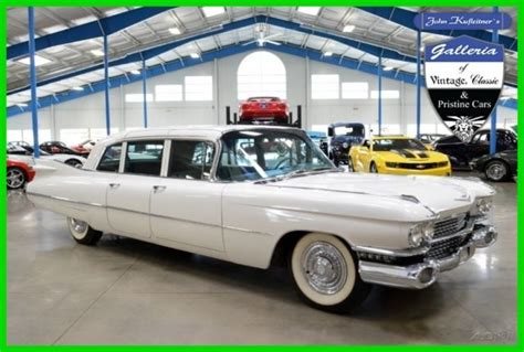 1959 Cadillac Limousine by 1959 Cadillac Fleetwood 75 Series Limousine 59 Unrestored