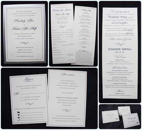 Sle Wedding Invitation Reception To Follow by Wording For Wedding Invitations When Reception Is In The