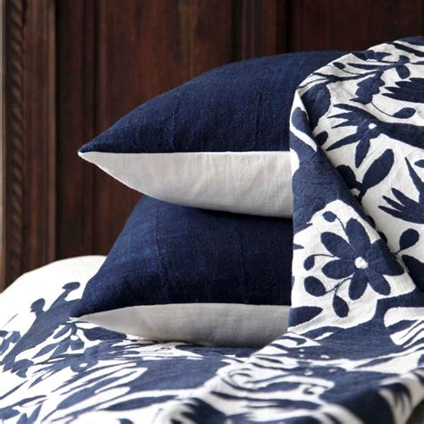 otomi coverlet otomi coverlets navy l aviva home