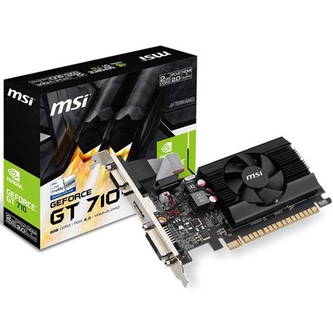 Msi Gt 710 1 Gb Ddr3 2 Gd3h Lp 64 Bit msi gt 710 2gb ddr3 lp 912 v809 2244