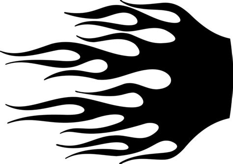 flame stencils printable cliparts co