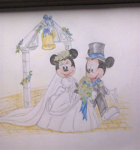 mickey and minnie mouse wedding decorations mickey and minnie mouse wedding by dalmatianmad on deviantart
