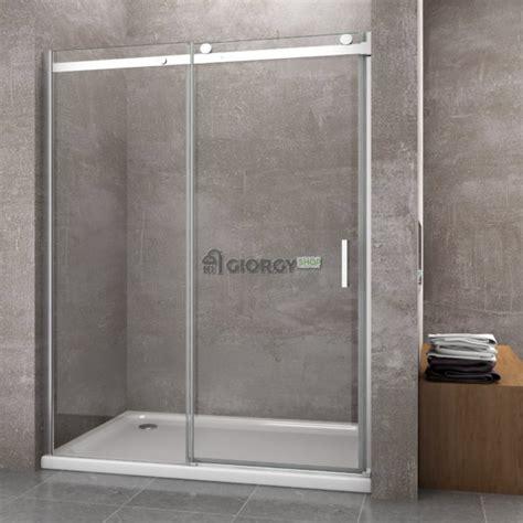 porta box doccia nicchia porta doccia per nicchia 8 mm apertura scorrevole