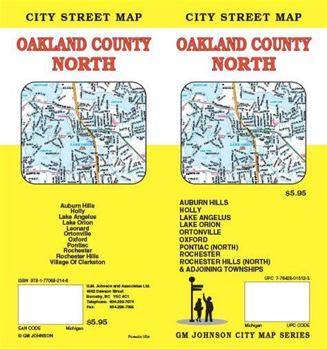 Search Oakland County Oakland County Michigan Map Gm Johnson Maps
