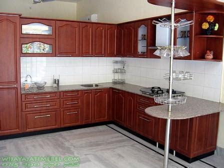 Lemari Kayu Per Meter lemari dapur permeter kitchen set jati wijaya jati mebel