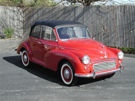 1960 morris minor 1000 Values   Hagerty Valuation Tool®