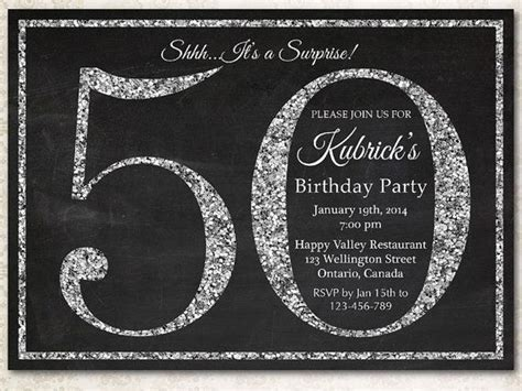 50th birthday invite template free 50th birthday invitations free templates all