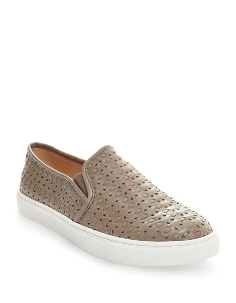 Sneakers Excel steve madden excel slip on sneakers in gray lyst