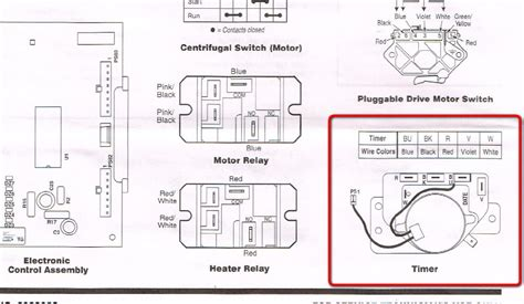 in wiring diagram frigidaire stove dryer wiring
