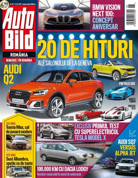 Auto Bild 6 2016 by Revista Auto Bild Nr 6 Din 17 Martie 2016 Headline