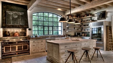 Rustic Kitchen Colors White Washed Rustic Kitchen White Rustic Kitchen Cabinets