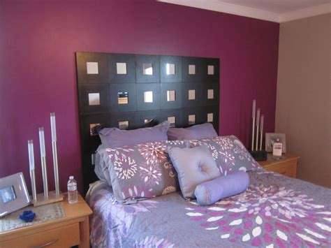 diy mirrored headboard this project is easy i bought a thin of plywood and used liquid nails to stick them