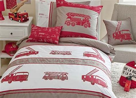 fire truck bedding quot whimsy quot fire trucks bedding kids rooms pinterest