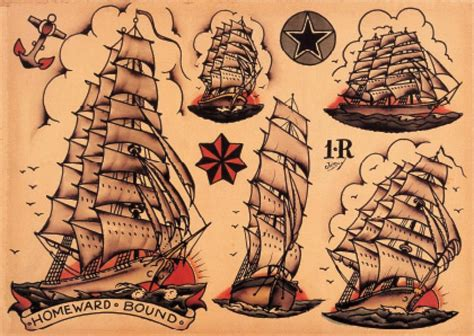 sailor jerry ship tattoo designs a evolu 231 227 o da tatuagem school e o retorno ao original