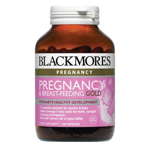 Vitamin Blackmores Pregnancy Blackmores Pregnancy Breast Feeding Gold 120 Capsules
