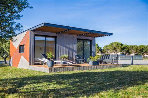 Maison Dans Container by Contain Une Habitation Container En Harmonie Avec