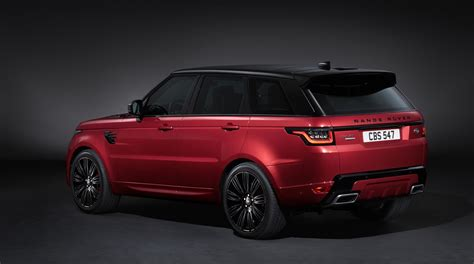 land rover sport 2018 2018 range rover sport facelift debuts with 2 0 liter plug