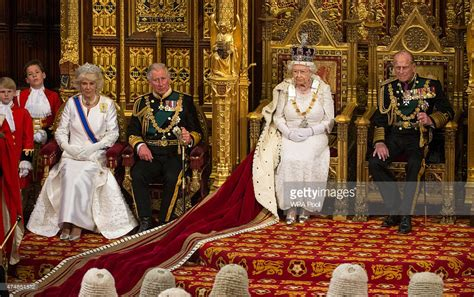 queen elizabeth ii house the state opening of parliament getty images