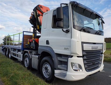 Sleeper Cab For Sale by Daf Cf460 Sleeper Cab 8x2 Rear Lift And Steer Truck For