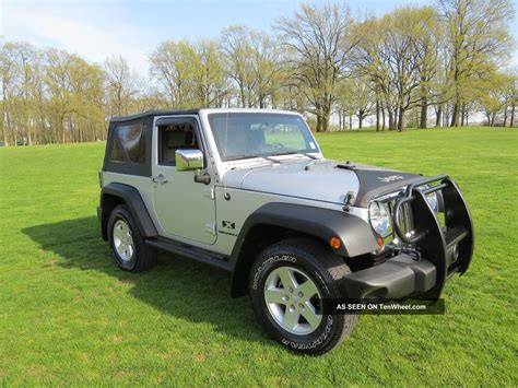 2008 Jeep Wrangler 2 Door 2008 Jeep Wrangler X Sport Utility 2 Door 3 8l Priced