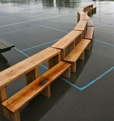 school benches outdoor outdoor teaching