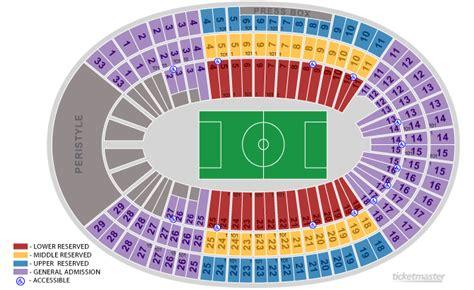 los angeles coliseum seating coliseum seating chart nassau coliseum concert seating