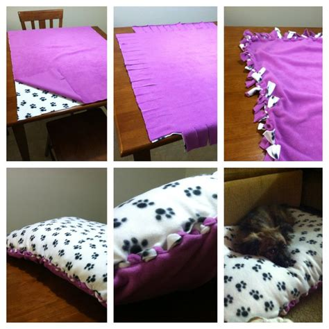 no sew dog bed diy no sew dog bed gift ideas pinterest