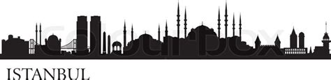 Home Building Plans And Prices istanbul city silhouette vector skyline illustration