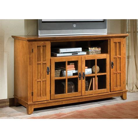 Credenza Entertainment Center home styles arts crafts entertainment credenza 172187 entertainment centers at sportsman s