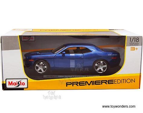 Die Cast City Vehicle 6 Pcs 2006 dodge challenger concept top 36138bu 1 18 scale