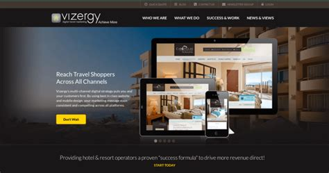 best home design websites 2015 vizergy top hotel web design firms 10 best design
